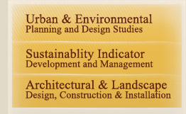 urban and environmental plannning and design studies